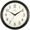 Acctim Amelia Black Wall Clock