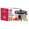 Quest 3.5 Litre Stainless Steel Slow Cooker