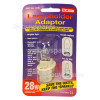 Lyvia Lyvia 28w Bc To G9 Lampholder Adaptor Ideal For Chandeliers& Glass Fittings