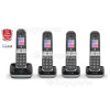 BT BT8600 Advanced Call Blocker - Quad Digital Phone