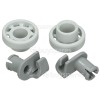 Genuine Bosch Neff Siemens Dishwasher Upper Basket Wheel - Pack Of 2