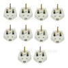 Wellco 3A Fused Mains Plug (Box Of 10)