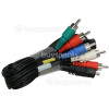 Samsung HMX-H205BP/EDC Component Cable