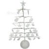 Noma 21 Warm White LED Metal Tree Garland