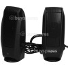 Genuine Logitech S120 PC Speaker System