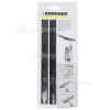Genuine Karcher Pull Off Lip - 280mm (Pack Of 2)