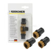 Karcher Round Brush Set (Brass) - Pack Of 3