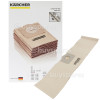 Genuine Karcher Vacuum Paper Filter Dust Bag (Pack Of 5)