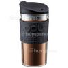 Bodum Double Wall Travel Mug - Black