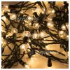 Genuine The Christmas Workshop 100 LED Warm White Berry Chaser Light Set - UK Plug