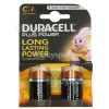 Genuine Duracell Plus C Alkaline Batteries