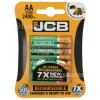 JCB AA Wiederaufladbare Batterien