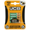 Genuine JCB AAA NiMH Rechargeable Batteries (Ready To Use)