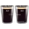 Melitta 200ml Doppelwandigen Espresso-Gläser (2er Packung)