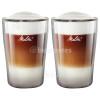 Verres À Café Latte Macchiato 300ML ( Lot De 2 ) Melitta