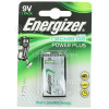 Pile AccuRecharge 9V Power Plus Energizer