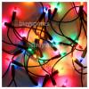 Genuine The Christmas Workshop 100 Multi-Colour Fairy Lights Set - UK Plug