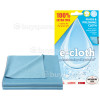 E-Cloth Glass & Polishing Cloth - Pack Of 2