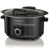 Morphy Richards Sear & Stew 6.5L Hinged Lid Slow Cooker