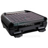George Foreman 3 Portion Stainless Steel Compact Grill