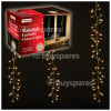 Genuine The Christmas Workshop 240 LED Waterfall Curtain Chaser Lights