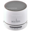 Acctim Tempo Bluetooth Wireless Speaker - White