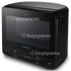 Hotpoint 13L Curve Microwave - Black