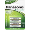 Genuine Panasonic Evolta AAA NiMH Ready To Use Rechargeable Batteries (Pack Of 4)