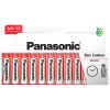 Panasonic AA Zinc Carbon Batteries: Box Of 20 Packs