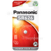 Genuine Panasonic SR626 Silver Oxide Coin Battery