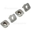Bosch Oven Shelf Guide Support Brackets (Pack Of 4)