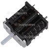 Hotpoint UY46X/1 Bottom Oven Function Selector Switch EGO 42.03400.007