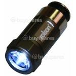 Rolson 1 LED Rechargeable 12V Cigarette Lighter Torch