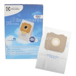Electrolux Group ES51 Synthetic Bag & Micro Filter (Pack of 4)