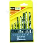 rolson-9-piece-combination-drill-bit-set