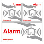 Honeywell HS3WS2S Security Window Stickers (Pack of 6)