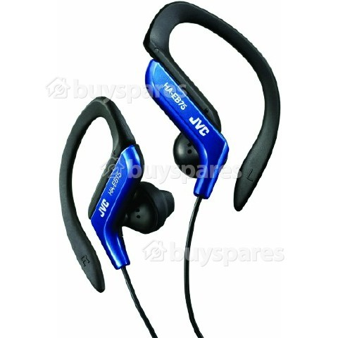JVC HAEB75 Clip-On Earphones - Blue