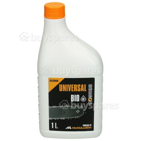 Universal Powered By McCulloch OLO008 Chain Oil (Bio) - 1 Litre