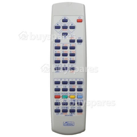 Gogen Compatible With RC1055, RC1060, RC1070, RC1080 Etc.TV Remote Control