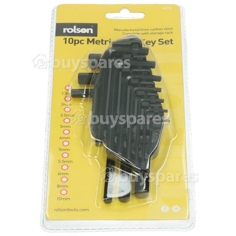 Rolson Hex Key Set