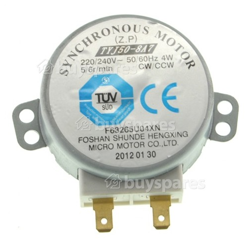 Microwave Oven Tray Motor 220-240V 4W Synchronous Motor for TYJ50-8A7 ZJHN