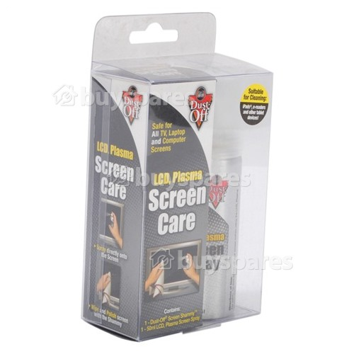 Dust Off Flat Screen TV Care Kit