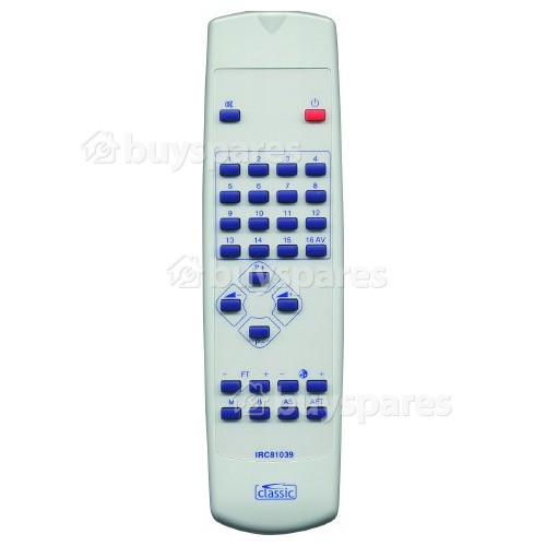 Classic TVC141409 IRC81039 Remote Control