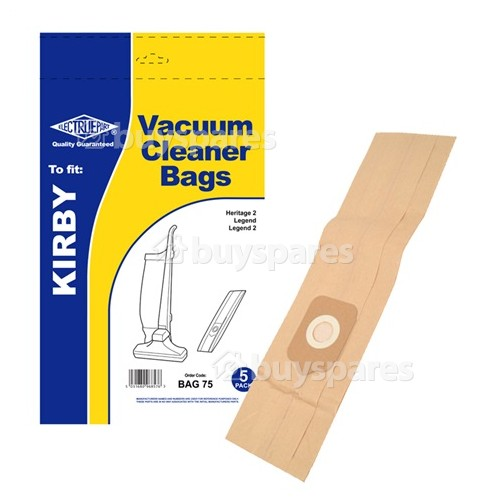 Kirby L Dust Bag (Pack Of 5) - BAG75