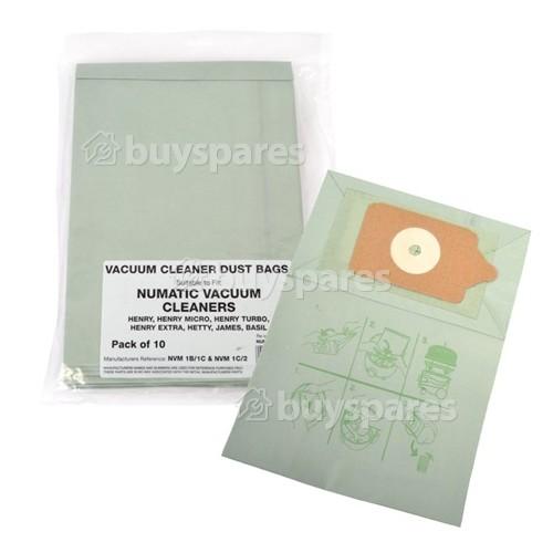 Advance NVM-1CH Papier-Staubsaugerbeutel (10er Pack)