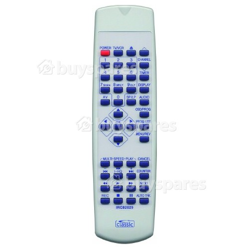 Classic IRC82029 Remote Control