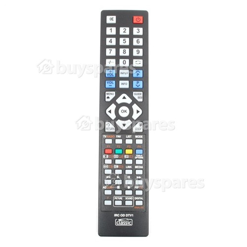 Grunkel Compatible TV Remote Control