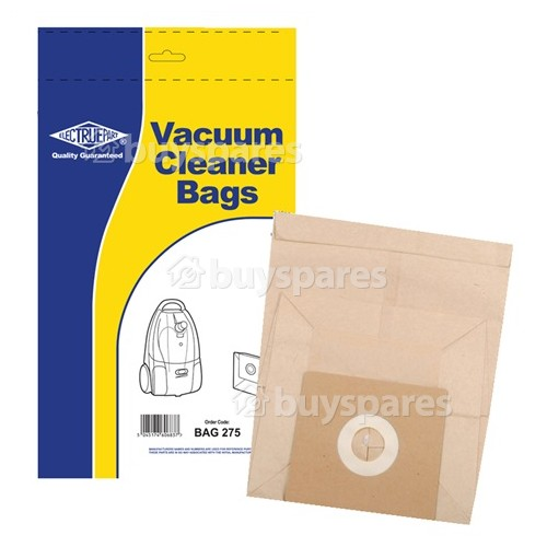 Vax V Paper Dust Bag (Pack Of 5) - BAG275