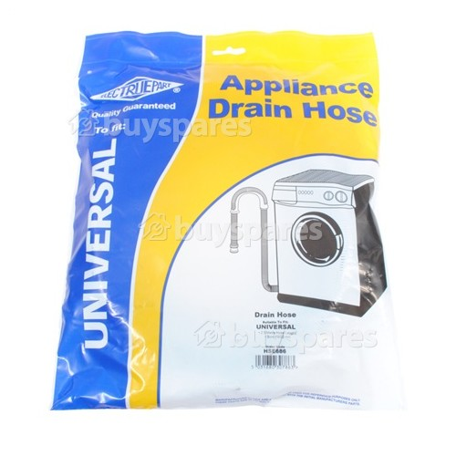 Baumatic BWD1212 Universal 2.5m Drain Hose With Straight Ends 19mm & 22mm Internal Dia's.