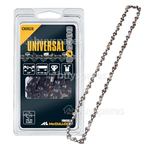 "Metabo CHO028 40cm (16"") 57 Drive Link Chainsaw Chain"